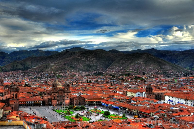 Fotka, Foto Cusco, panoráma města (Peru)