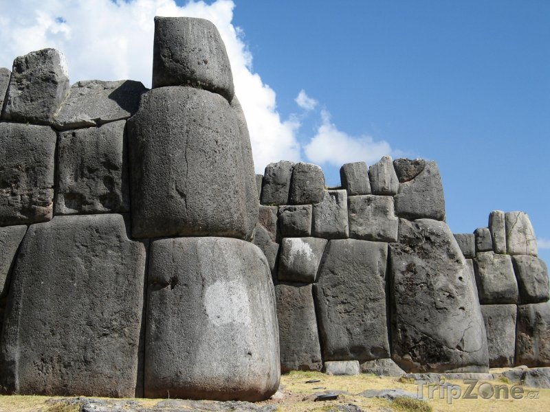Fotka, Foto Cusco, Sacsayhuamán - zděný komplex z inckých dob (Peru)
