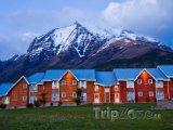 Domy v Národním parku Torres del Paine v Patagonii