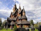 Dřevěný kostel Heddal