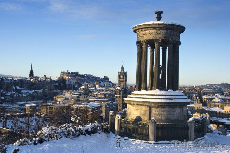 Fotka, Foto Edinburgh - Calton Hill (Velká Británie)