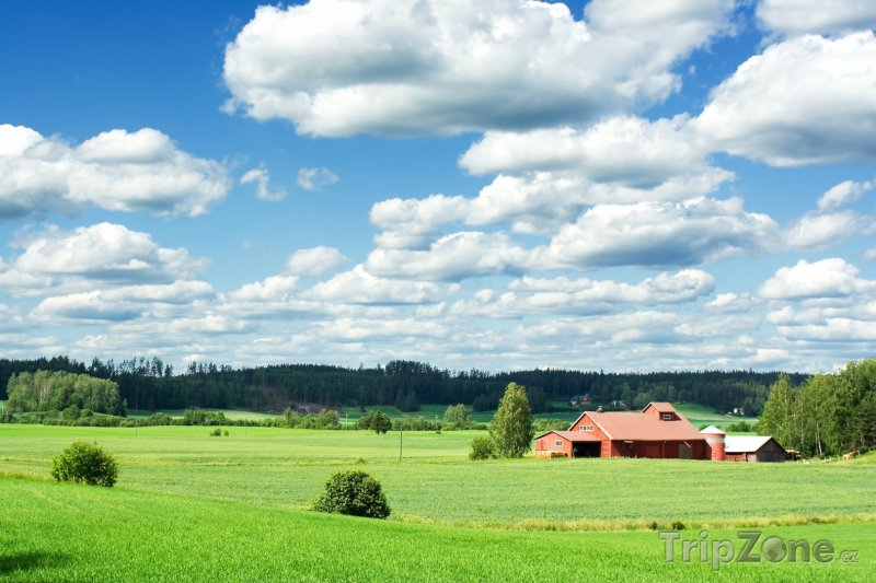 Fotka, Foto Farma na venkově (Finsko)