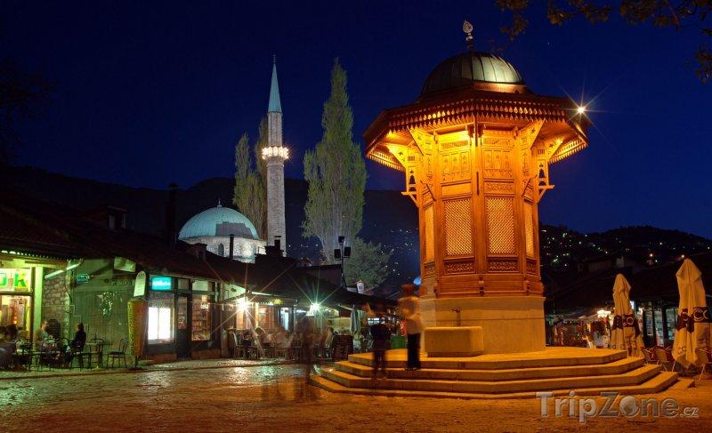Fotka, Foto Fontána Sebilj (Sarajevo, Bosna a Hercegovina)