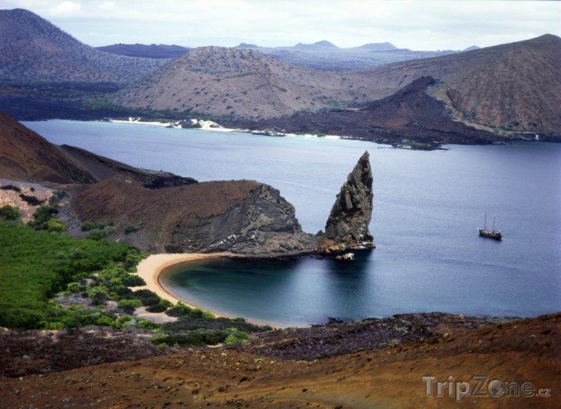 Fotka, Foto Galapágy, ostrov Bartolomé (Ekvádor)