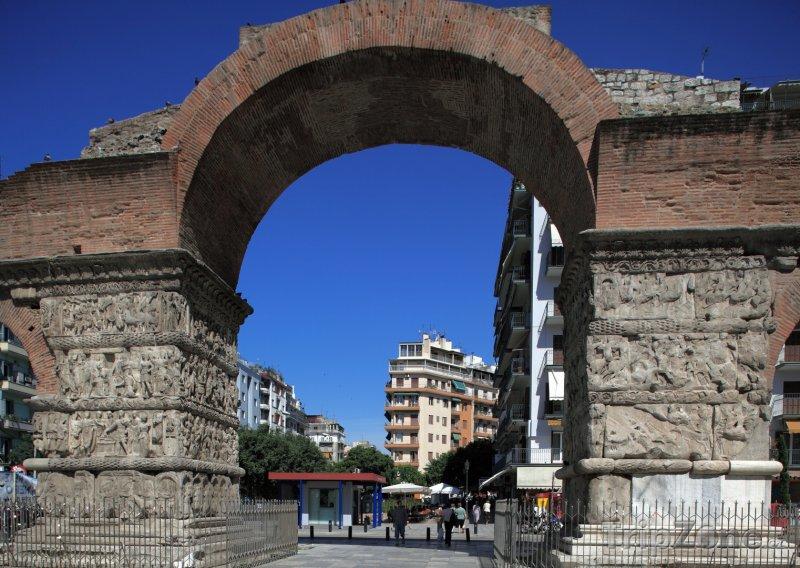 Fotka, Foto Galeriův oblouk (Soluň, Řecko)
