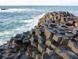 Giants Causeway - geologický útvar v Severním Irsku