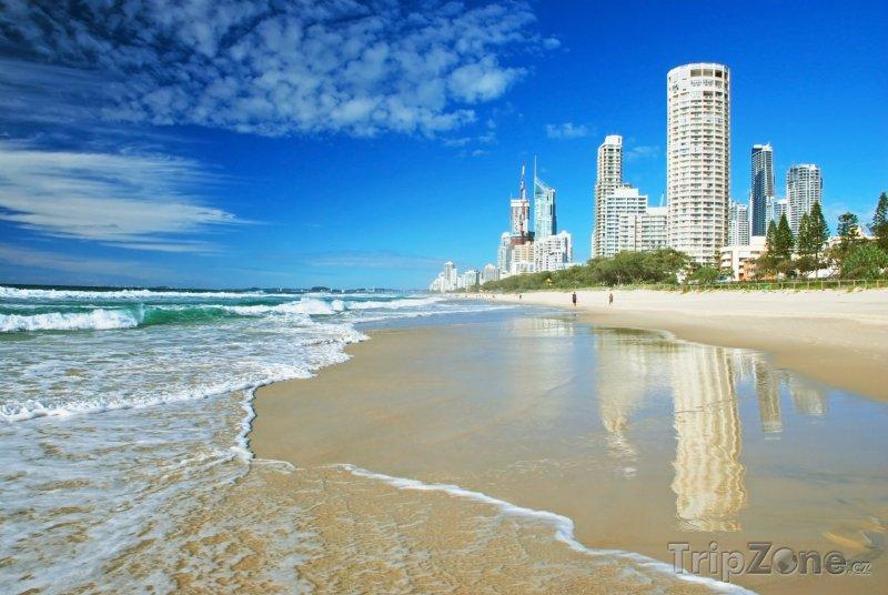 Fotka, Foto Gold Coast, pláž (Austrálie)