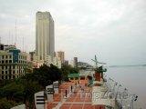 Guayaquil, nábřeží řeky Guayas