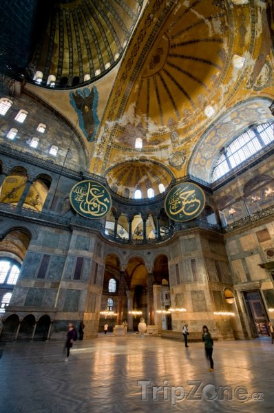 Fotka, Foto Hagia Sofia - Istanbul (Turecko)