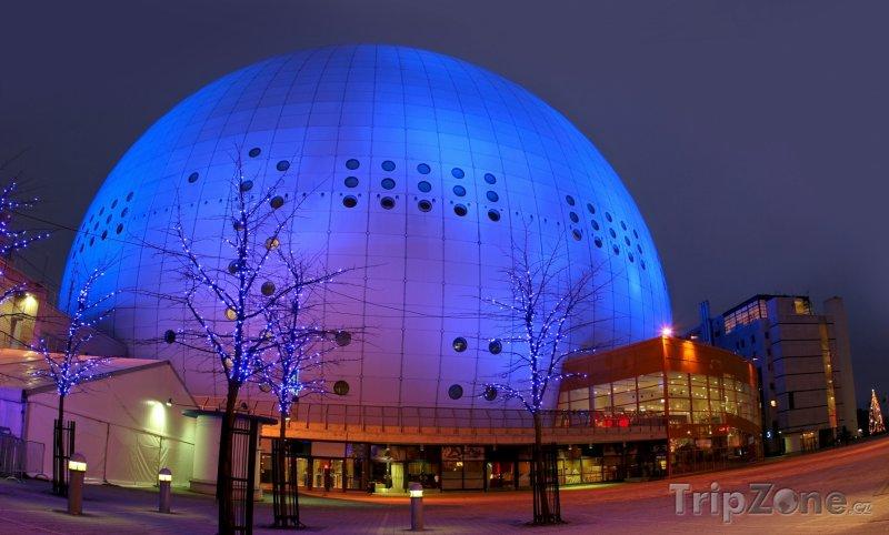 Fotka, Foto Hala Globe ve Stockholmu (Stockholm, Švédsko)