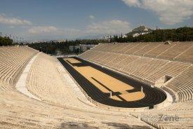 Historický olympijský stadion v Athénách