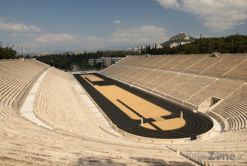Fotka, Foto Historický olympijský stadion v Athénách (Attika, Řecko)