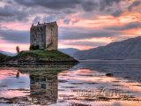 Hrad Stalker ve Skotsku