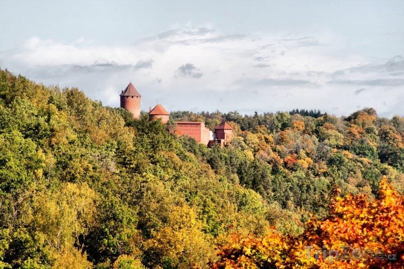 Fotka, Foto Hrad Turaida v Siguldě (Lotyšsko)
