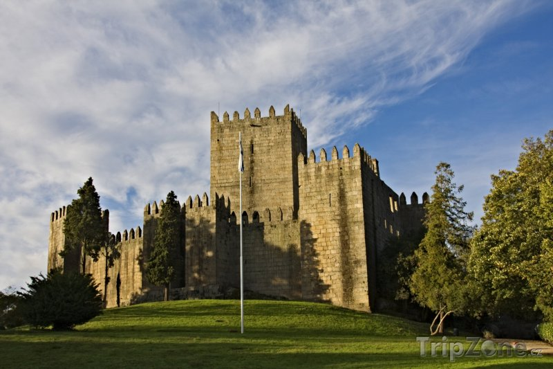 Fotka, Foto Hrad v Guimaraes (Portugalsko)