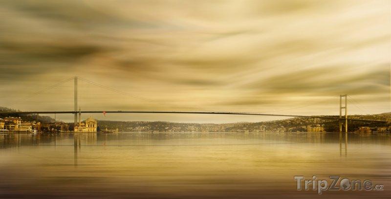 Fotka, Foto Istanbul - Bosporský most (Turecko)