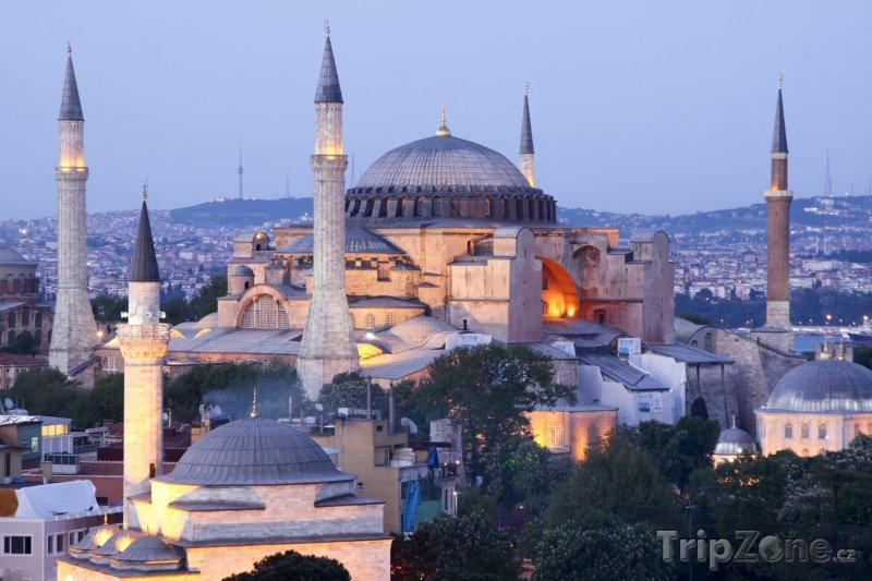 Fotka, Foto Istanbul - Hagia Sofia (Turecko)