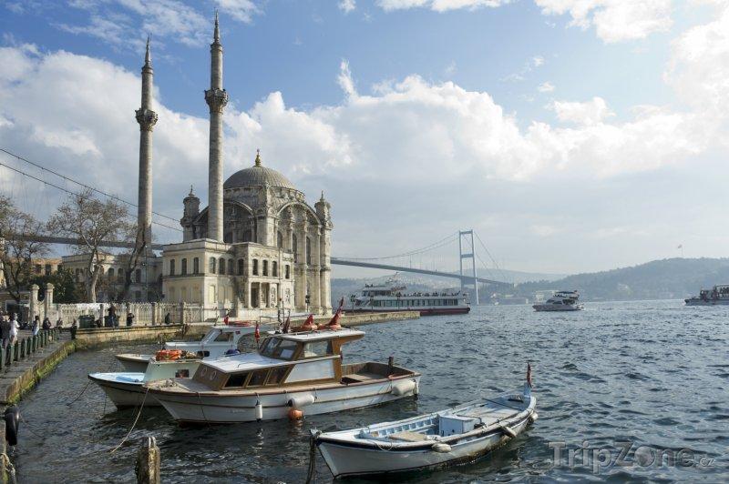 Fotka, Foto Istanbul - mešita Ortakoy (Turecko)