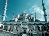 Istanbul - mešita Sultan Ahmed (Modrá mešita)