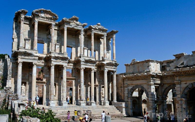 Fotka, Foto Izmir - Celsusova knihovna (Turecko)