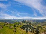Jarní krajina horské oblasti Zlatibor
