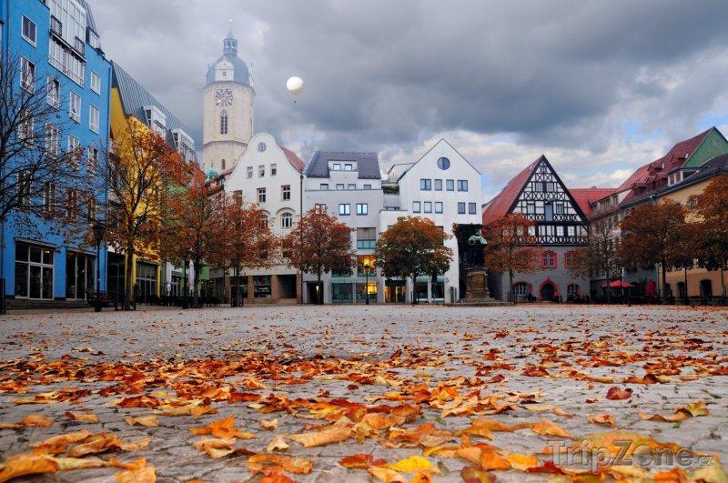 Fotka, Foto Jena - náměstí (Německo)