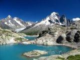 Jezero Lac Blanc u Chamonix