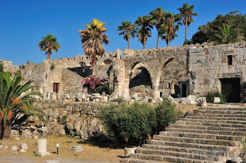 Fotka, Foto Johanitánská pevnost ve městě Kos (Kos, Řecko)