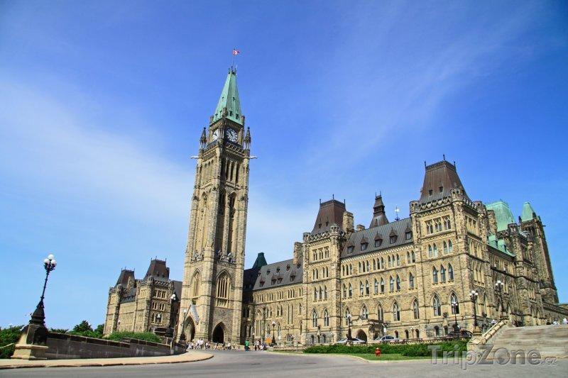 Fotka, Foto Kanadský parlament v Ottawě (Kanada)
