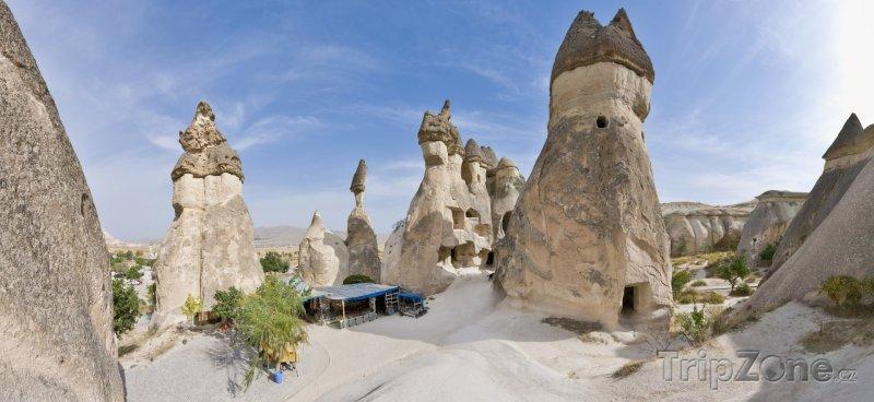Fotka, Foto Kappadokie - komínové skály (Turecko)