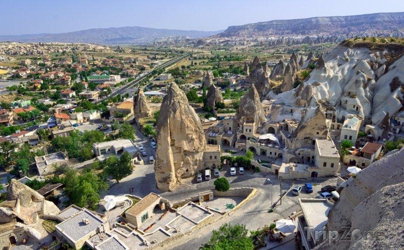 Fotka, Foto Kappadokie - město Goreme (Turecko)