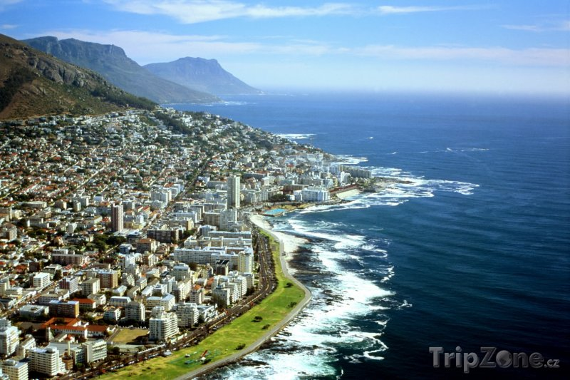 Fotka, Foto Kapské Město z ptačí perspektivy (Jihoafrická republika)