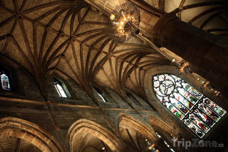 Fotka, Foto Katedrála Saint Gilles v Edinburghu (Velká Británie)