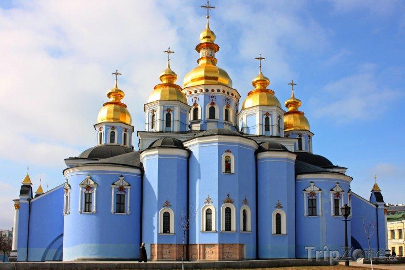 Fotka, Foto Katedrála svatého Michala v Kyjevu (Ukrajina)