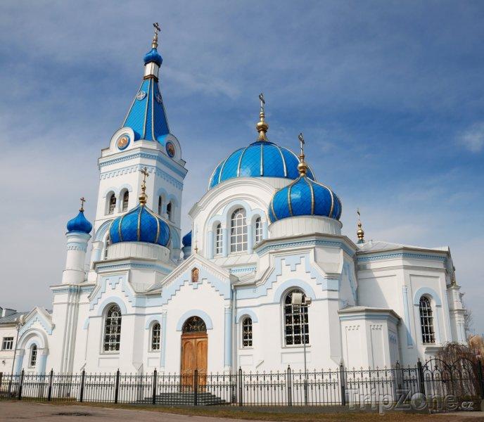 Fotka, Foto Katedrála svatého Šimona a Anny v Jelgavě (Lotyšsko)