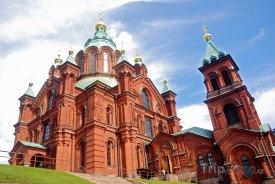 Katedrála Uspenski v Helsinkách