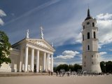 Katedrální náměstí ve Vilniusu