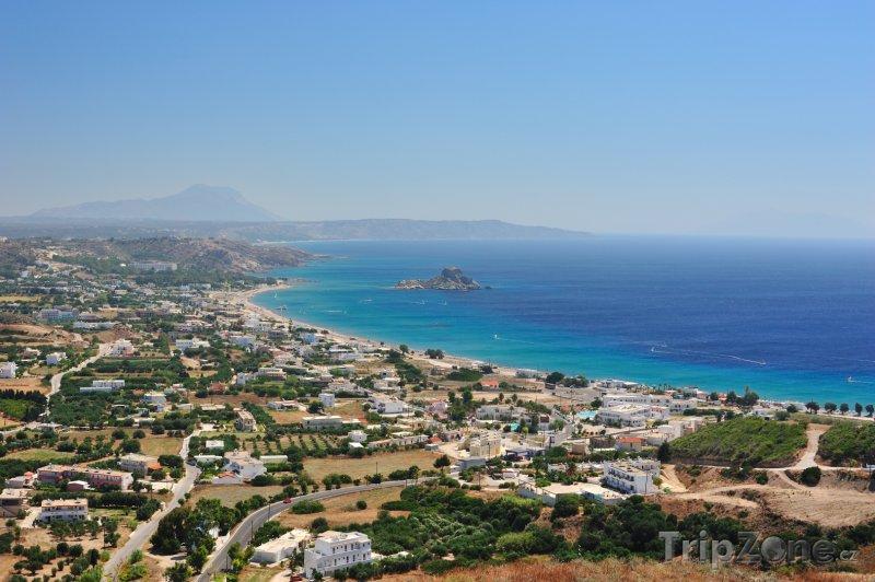 Fotka, Foto Kefalos, panoráma města (Kos, Řecko)