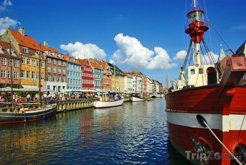 Fotka, Foto Kodaňský přístav Nyhavn (Dánsko)