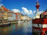 Kodaňský přístav Nyhavn