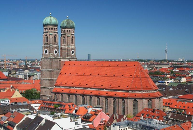 Fotka, Foto Kostel Frauenkirche v Mnichově (Německo)