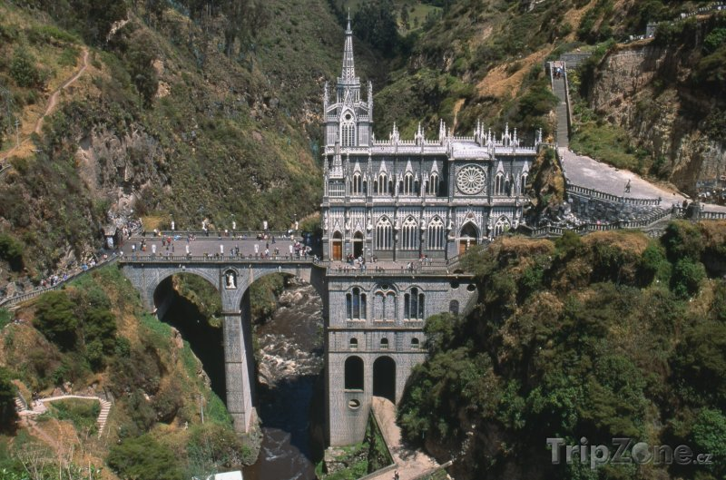 Fotka, Foto Kostel Las Lajas (Kolumbie)