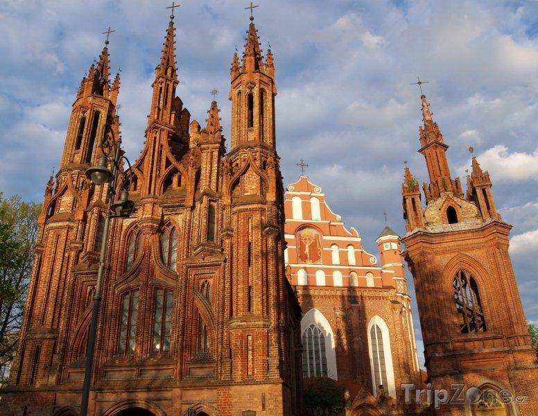 Fotka, Foto Kostel svaté Anny (Litva)