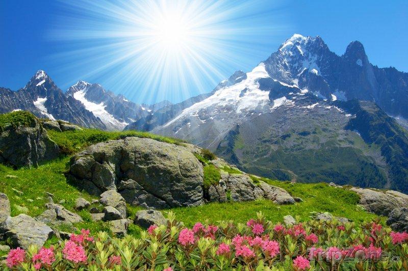 Fotka, Foto Krajina Savojských Alp (Francouzské Alpy, Francie)