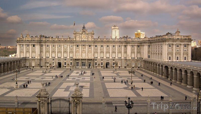 Fotka, Foto Královský palác (Palacio Real de Madrid) (Madrid, Španělsko)