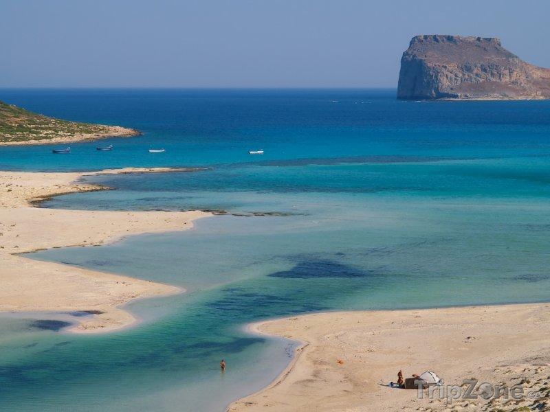 Fotka, Foto Kréta - laguna na ostrově Balos (Kréta, Řecko)