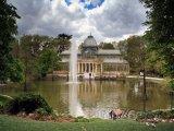 Křišťálový palác (Palacio de Cristal) v parku Buen Retiro