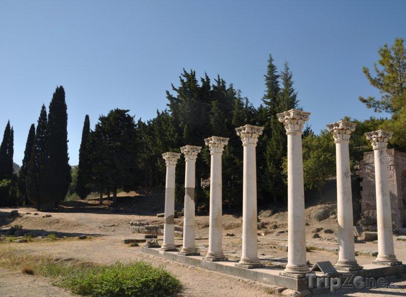 Fotka, Foto Léčebný chrám Asklépion (Kos, Řecko)