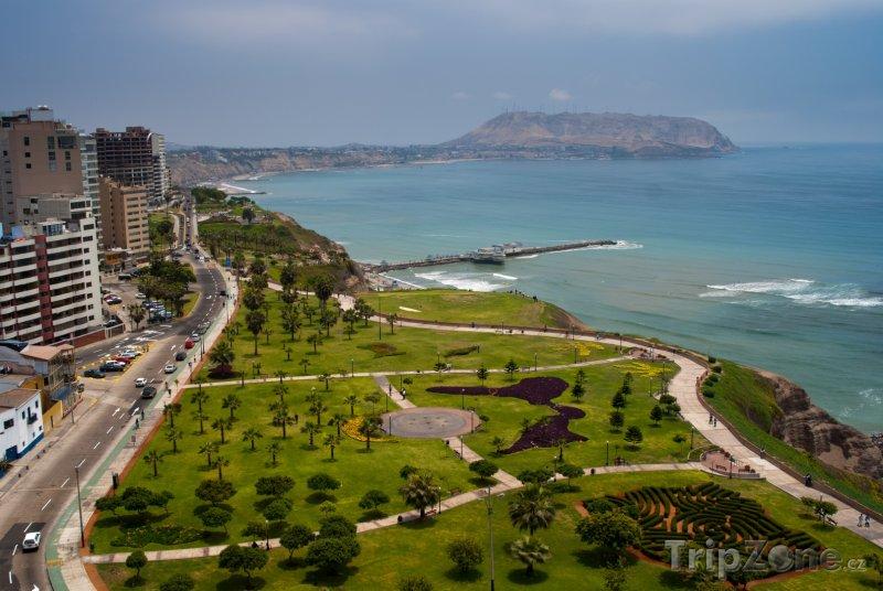 Fotka, Foto Lima, pohled na čtvrť Miraflores (Peru)