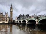 Londýn, Big Ben a Westminster Bridge